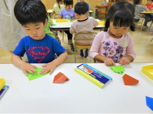 g中折り紙 (2)