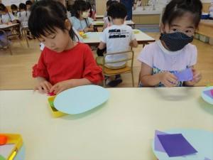 g長折り紙 (2)